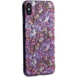 """Чехол-накладка пластиковый MItrifON для iPhone XS Max (6.5"""") с силиконовыми бортами Розовый вид №1"""