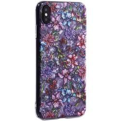 """Чехол-накладка пластиковый Fashion Case для iPhone XS Max (6.5"""") с силиконовыми бортами Розовый вид №6"""