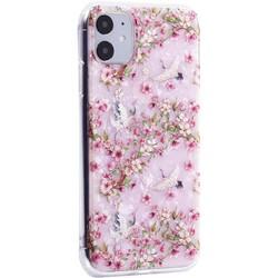 """Чехол-накладка пластиковый MItrifON для iPhone 11 (6.1"""") с силиконовыми бортами Розовый вид №1"""