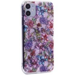 """Чехол-накладка пластиковый MItrifON для iPhone 11 (6.1"""") с силиконовыми бортами Розовый вид №6"""
