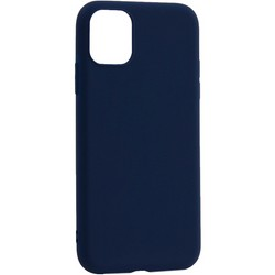 "Чехол-накладка силикон Deppa Gel Color Case Basic D-87229 для iPhone 11 (6.1"") 0.8мм Синий"