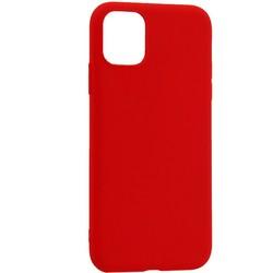 """Чехол-накладка силикон Deppa Gel Color Case Basic D-87230 для iPhone 11 (6.1"""") 0.8мм Красный"""