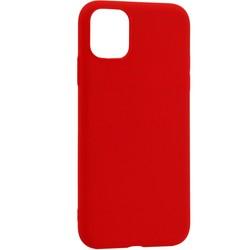 """Чехол-накладка силикон Deppa Gel Color Case Basic D-87227 для iPhone 11 Pro (5.8"""") 0.8мм Красный"""