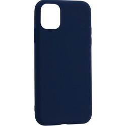 "Чехол-накладка силикон Deppa Gel Color Case Basic D-87232 для iPhone 11 Pro Max (6.5"") 0.8мм Синий"