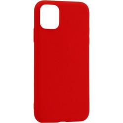 """Чехол-накладка силикон Deppa Gel Color Case Basic D-87233 для iPhone 11 Pro Max (6.5"""") 0.8мм Красный"""