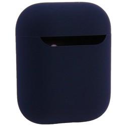Чехол силиконовый COTEetCI для AirPods 2 Liquid Silicone+PP Case (CS8136-BL) Темно синий