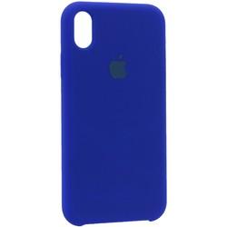 """Чехол-накладка силиконовый Silicone Case для iPhone XR (6.1"""") Ярко-синий"""