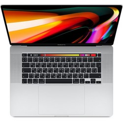 Apple MacBook Pro 16 with Retina display and Touch Bar Late 2019 (MVVL2RU, 6 ядер i7 2.6GHz/16Gb/512Gb SSD, Silver)