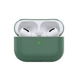 Чехол силиконовый Deppa для AirPods Pro (D-47035) 1.3мм Темно-зеленый