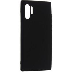 Чехол-накладка силикон Deppa Gel Color Case D-87332 для Samsung GALAXY Note 10 Plus (2019) 0.8мм Черный