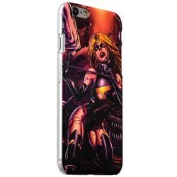 Чехол-накладка UV-print для iPhone 6s/ 6 (4.7) пластик (арт) тип 005