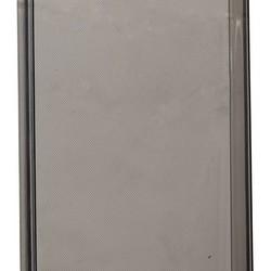 Чехол силиконовый для Samsung GALAXY A7 Duos SM-A710F (2016 г.) супертонкий в техпаке (прозрачно-чёрный)