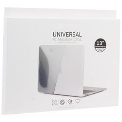 "Защитный чехол-накладка COTEetCI MB1002-TB universal PC Case для Apple MacBook New Pro 13"" (A1989,A1706,A1708) Черный"