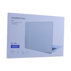 Защитный чехол-накладка HardShell Case для Apple MacBook Air 13 (2016-2017г.г.) матовая черная