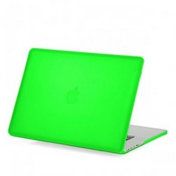 Защитный чехол-накладка BTA-Workshop для Apple MacBook Pro Retina 15 матовая зеленая
