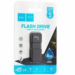 Флеш-накопитель Hoco UD6 Intelligent U disk 8Gb Черный