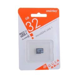 Карта памяти SmartBuy micro SDHC Card 32Gb Class10