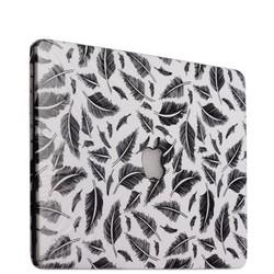 Защитный чехол-накладка BTA-Workshop для MacBook Pro 13 вид 18 (перья)