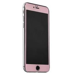 Стекло защитное&накладка пластиковая iBacks Full Screen Tempered Glass для iPhone 6s Plus/ 6 Plus (5.5) - (ip60188) Розовое