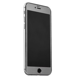 Стекло защитное&накладка пластиковая iBacks Full Screen Tempered Glass для iPhone 6s Plus/ 6 Plus (5.5) - (ip60187) Темно Серый