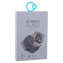 Стекло защитное COTEetCI 4D Black-Rim Full Viscosity Glass 0.1mm для Apple Watch Series 3/ 2/ 1 (38мм) CS2213-38-watch