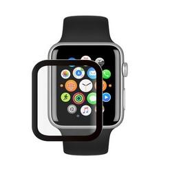 Стекло защитное Protection PMMA Deppa D-62617 для Apple Watch 5/ 4 series (44мм) черная рамка