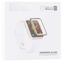 Стекло защитное Hoco Curved High-definition silk screen для Apple Watch Series 5/ 4 (40мм) черная рамка