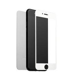 """Стекло защитное для iPhone 8 Plus/ 7 Plus (5.5"""") Silver 2в1 (зеркальное-глянцевое, 2 стороны) Серебристое"""