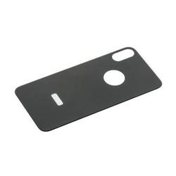"Стекло защитное 6D для iPhone XS/ X (5.8"") заднее Black"