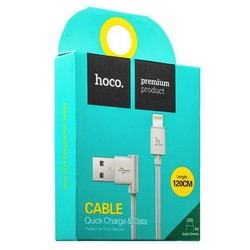 USB дата-кабель Hoco UPL11 L Shape Lightning (1.2 м) Белый