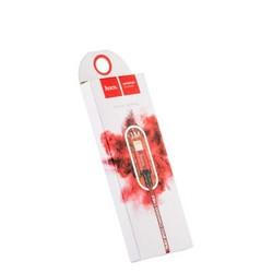 USB дата-кабель Hoco X14 Times speed Lightning (1.0 м) Красный