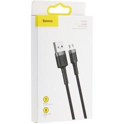 USB дата-кабель Baseus Cafule cable for MicroUSB (CAMKLF-BG1) (1.0 м) Черный