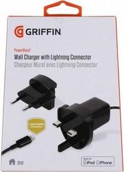 Сетевое зарядное устройство Griffin c разъемом 8-pin Lightning 0.9 м GA36560 (USB: 5W 1A) Черный ORIGINAL