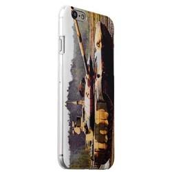 Чехол-накладка UV-print для iPhone 6s/ 6 (4.7) пластик (танки) Т-14 Армта тип 002