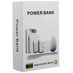 Аккумулятор внешний универсальный Wisdom YC-YDA12 Portable Power Bank 10400mAh ceramic white (USB выход: 5V 1A & 5V 2A)