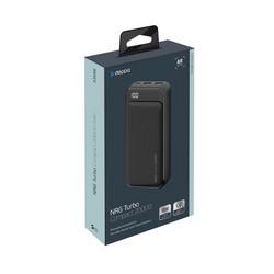 Аккумулятор внешний универсальный Deppa NRG Turbo Compact 20000 mAh QC 3.0 power bank 18 W D-33556 (2USB: 5V-2.1A) Графитовый
