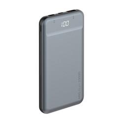 Аккумулятор внешний универсальный Deppa NRG Alum 10000 mAh - 18W, QC 3.0 power bank D-33557 Черный