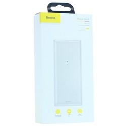 Аккумулятор внешний универсальный Baseus Mini JA Comfortable hand feelin (2USB: 5V-1.0A & 5V-2.4A) (PPJAN-C02) 30000 mAh Белый