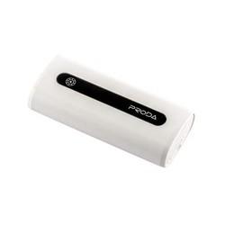 Аккумулятор внешний универсальный Remax PPL 15- 5000 mAh Proda E5 power bank (USB: 5V-1.0A) White Белый