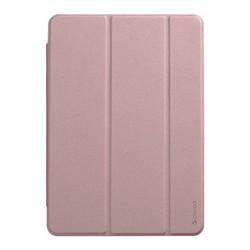 """Чехол-подставка Deppa Wallet Onzo Basic для iPad (10.2"""") 2019г. Soft touch 1.0мм (D-88057) Розовый"""