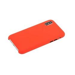 """Чехол-накладка силиконовый COTEetCI Mix Buttons Liquid Silicon Case для iPhone XS/ X (5.8"""") CS8013-RD Красный"""