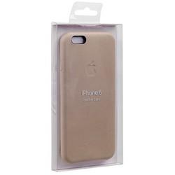 Чехол-накладка кожаная Leather Case для iPhone 6s/ 6 (4.7) Soft Pink - Бледно-розовый