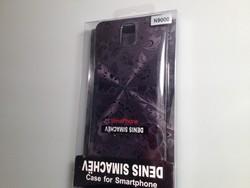 Чехол силиконовый D. Simachёv для Samsung N 9000 тип А1