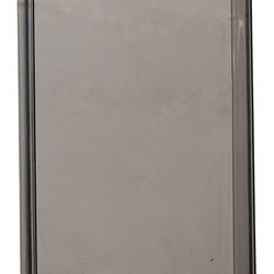 Чехол силиконовый для iPhone 6s Plus/ 6 Plus (5.5) супертонкий в техпаке (прозрачно-чёрный)
