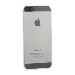 Чехол силиконовый для iPhone SE/ 5S/ 5 уплотненный прозрачный