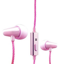 Наушники COTEetCI Earphone EH04-MINI POTTERY CS3013-PK Розовые