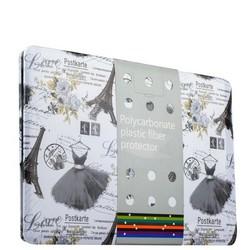 Защитный чехол-накладка BTA-Workshop для MacBook Pro 13 (черный рисунок) вид 2 (открытка)