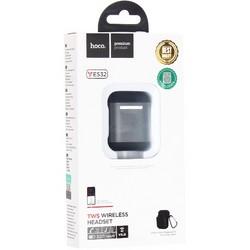 Bluetooth-гарнитура Hoco ES32 TWS Wireless Headset с зарядным устройством и чехлом Черный
