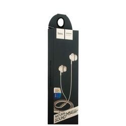 Наушники Hoco M14 Inital Sound Universal Earphones with mic (1.2 м) с микрофоном White Белые