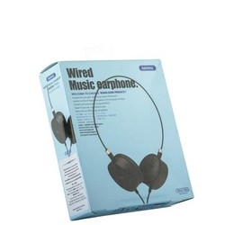 Наушники Remax RM-910 накладные Wired Music Earphone Черные